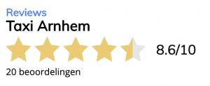 Klantbeoordelingen van Taxi Arnhem